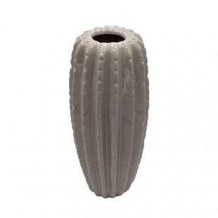 Vaso Cactus Stilizzato Tortora