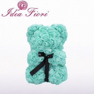 Teddy Rose in Foam Tiffany