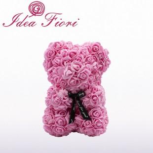 Teddy Rose in Foam Rosa