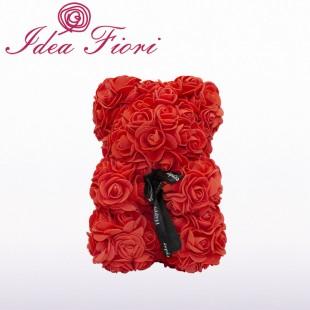Teddy Rose in Foam Rosso