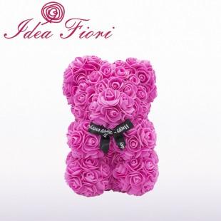 Teddy Rose in Foam Fucsia