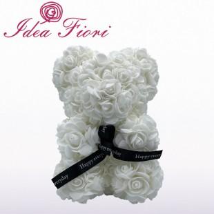 Teddy Rose in Foam Bianco