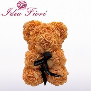 Teddy Rose in Foam Arancio