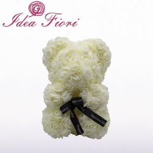 Teddy Rose in Foam Avorio