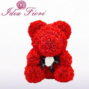Teddy Rose Rosso con Rosa...