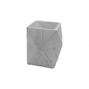 Coprivaso Geometrico Bianco