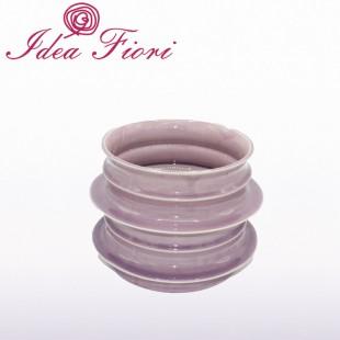 Coprivaso Rosa In Ceramica