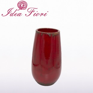 Vaso Bombato Rosso