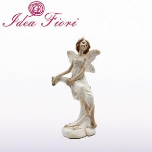 Fatina in Ceramica Bianca
