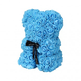 Teddy Rose in Foam Azzurro