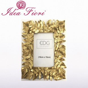 Cornice Con Foglie Oro Enzo...