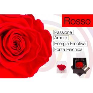 Rosa Stabilizzata Rossa...